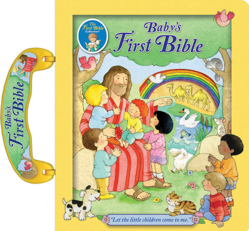 Catholic Baby%27s First Bible baby bible, catholic baby bible, baptism gift, new baby gift, hardcover, color bible, 978-0-88-271714-2 ,9780882717142,JUDITH BAUER