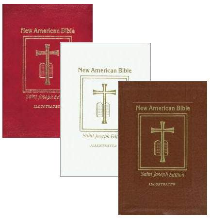 New American Bible- Deluxe Gift Edition New American Bible, Deluxe Gift Edition bible, catholic book bible, 609/13R, 609/13W, 609/13BN, 978-0-89-942959-5, 978-0-89-942957-1, 978-0-89-942958-8