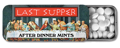 Last Supper Dinner Mints Last Supper Dinner Mints