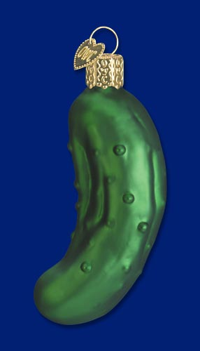 Legendary Pickle Ornaments