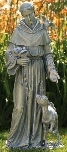 Garden Statue St Francis: Outdoor Male Saints