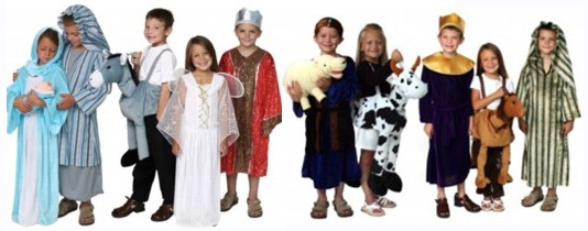Christmas Pageant Nativity Costumes