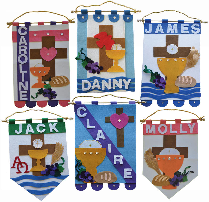 First Communion Banner Kits