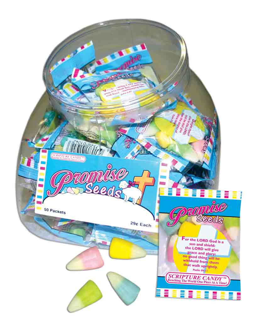 Promise Seeds Bags Promise Seeds Bags, easter candy, religious easter candy, easter basket candy, easter candy for groups, easter candy for distribution