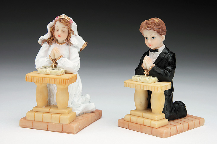 First Communion Cake Toppers Resin First Communion
