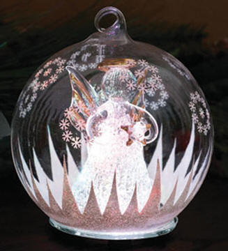 Angel Wings Christmas Ornament