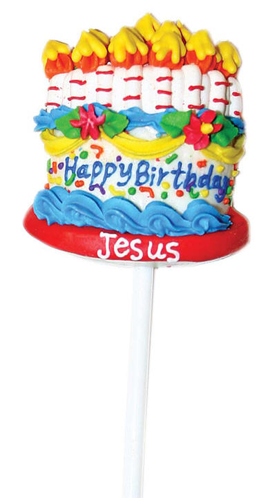 Happy Birthday Jesus Lollipop Happy Birthday Jesus Lollipop