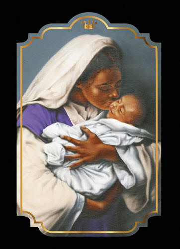 kissing the face of god boxed christmas cards box of 15 cards envelopes item 01562