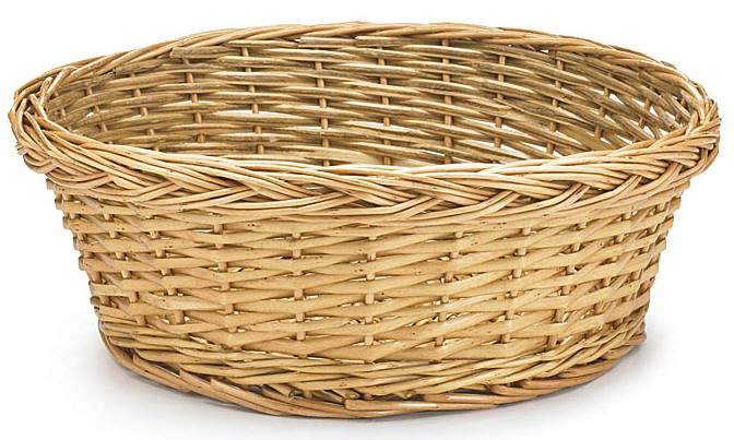 "Value 12"" Collection Basket, Almond"
