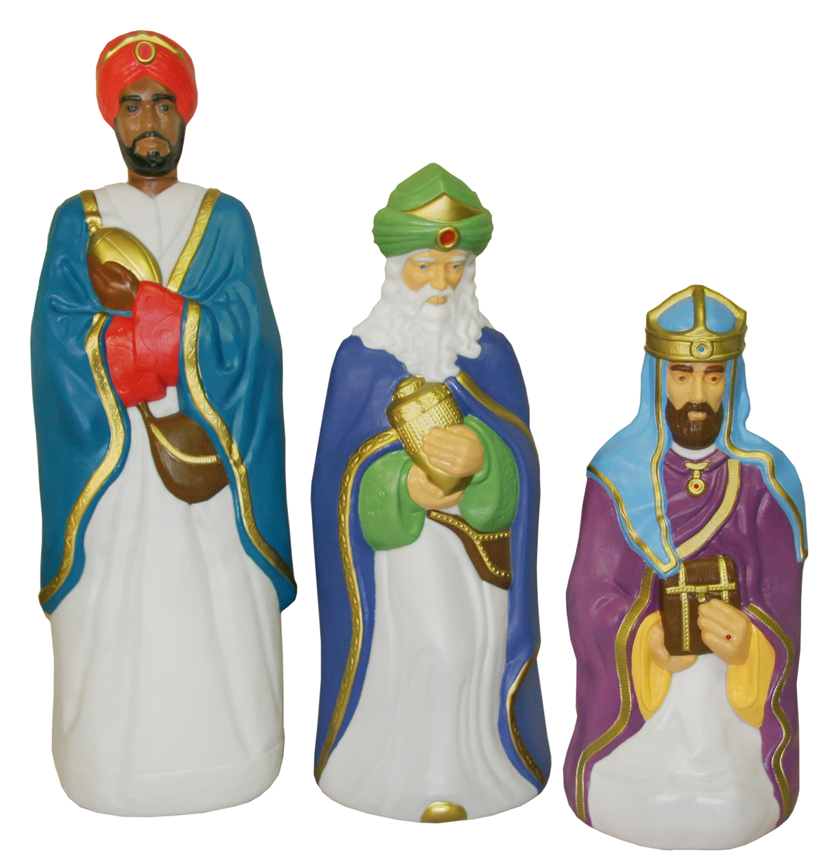Lit outdoor plastic nativity c5550g aloadofball Images