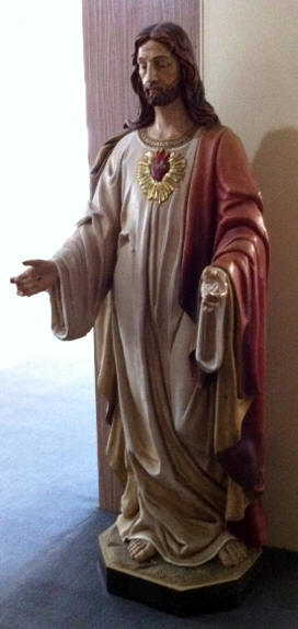 "75"" Sacred Heart of Jesus Statue *WHILE SUPPLIES LAST* - 11040"